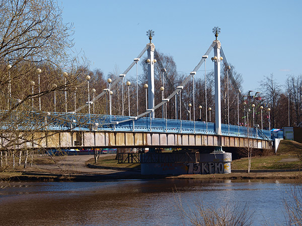 «Бруклинский мост», мост на Даманский остров