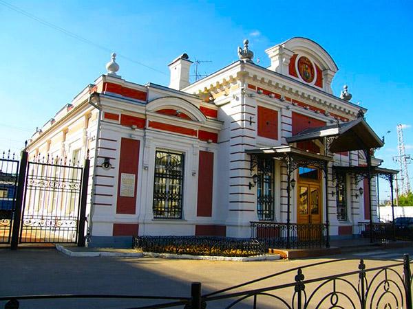 Царский павильон - фасад