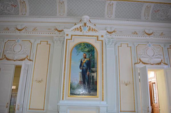 Царский павильон - интерьер
