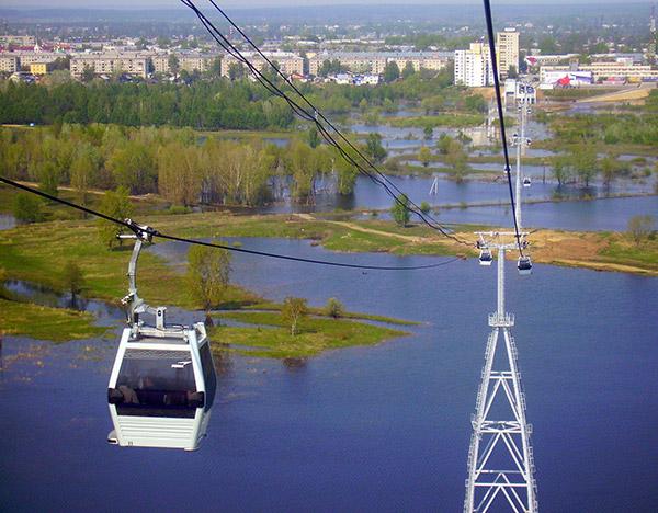 Канатная дорога «Нижний Новгород-Бор»