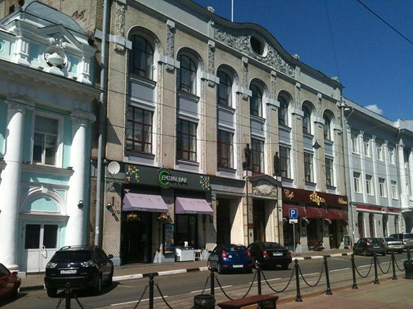 Здание банка Рукавишниковых